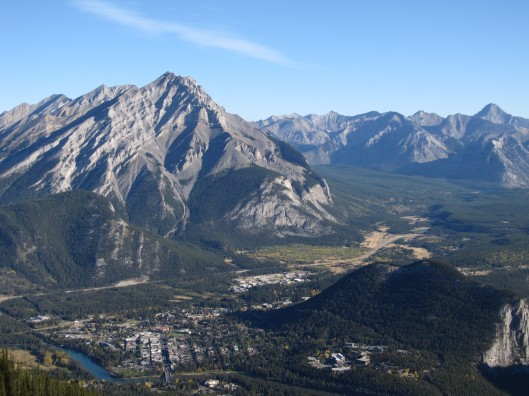 Tunnel, Cascade Mountains, and Banff Townsite