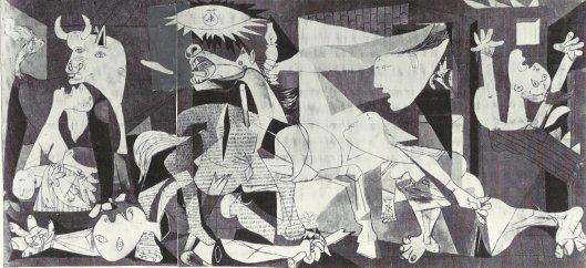 Picasso's Guernica, 1937