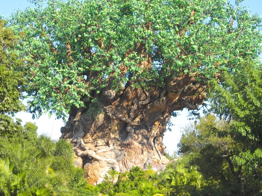 Disney's Tree Of Life. Don't be fooled though, 'cause the one I'm thinking of cannot be seen, except with the pineal eye that is...